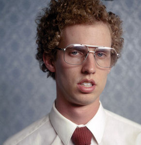 Napoleon Dynamite. Geek Glasses. Heck yes...