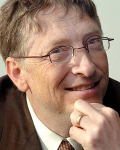 Bill Gates - Owes it all to Glasses??