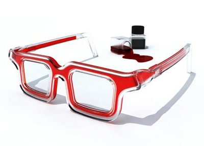 RbG glasses: I'll be wearing mine with a tweed blazer