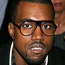 Kanye West wears Acetate Aviator