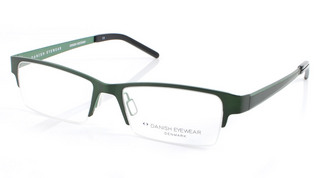 Danish Eyewear M804A - Mens Semi Rimless glasses