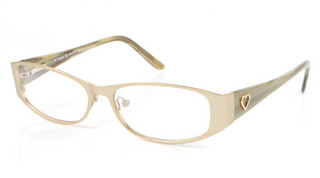 St Tropez - Womens Gold glasses