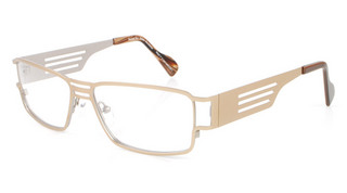 Maverick - Womens Gold glasses