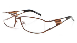 Tivoli - Mens Semi Rimless glasses