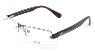 Police V8453 - Mens Semi Rimless glasses