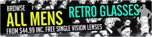 Mens Retro Prescription Glasses from $44.99